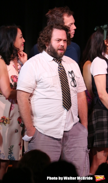 Dan Fogler during the Curtain Call for the One Night Only 10th Anniversary Concert of ''The 25th Annual Putnam County Spelling Bee'' at Town Hall on July 6, 2015 in New York City.