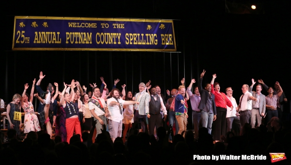 Photo Coverage: With Cheers and Happy Tears - SPELLING BEE Reunion Concert Curtain Call!