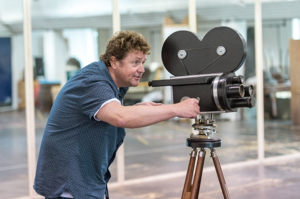 Photo Coverage: Michael Ball In Rehearsal For MACK AND MABEL!