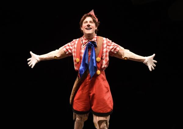 Andrew Spatafora stars as Pinocchio