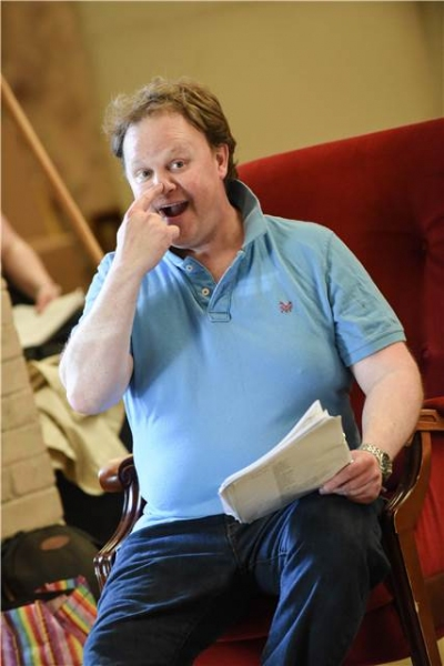 Photo Flash: First Look at Justin Fletcher, Ronni Anocona & More in Rehearsal for MIF's THE TALE OF MR. TUMBLE