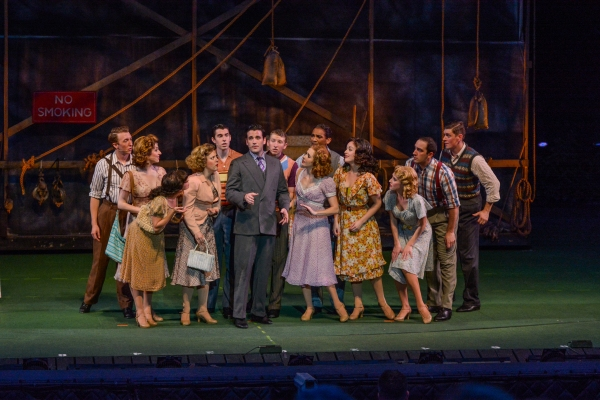 Photo Flash: First Look at Patti Murin, Colin Donnell, Nancy Opel & More in HOLIDAY INN at The Muny
