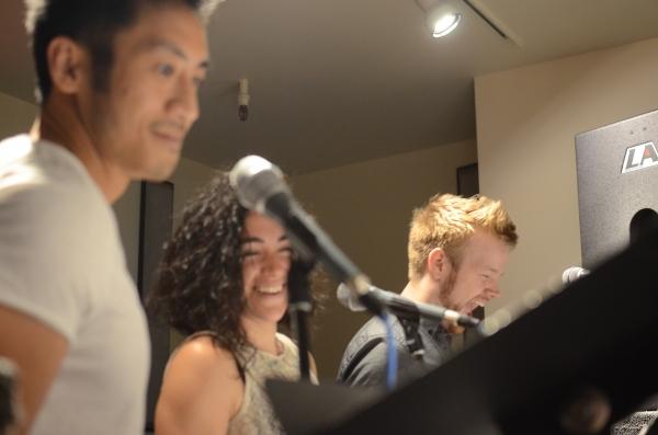 Hansel Tan, Kate Steinberg, Joshua Hinck