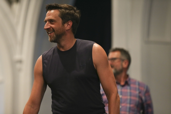 Photo Flash: Lily Rabe, Hamish Linklater, Raul Esparza & More Prep to Take on Shakespeare in the Park's CYMBELINE