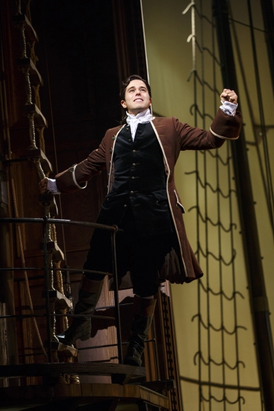 Photo Flash: Anthem of Hope! First Look at Josh Young, Erin Mackey, Tom Hewitt, Chuck Cooper and More in Broadway's AMAZING GRACE