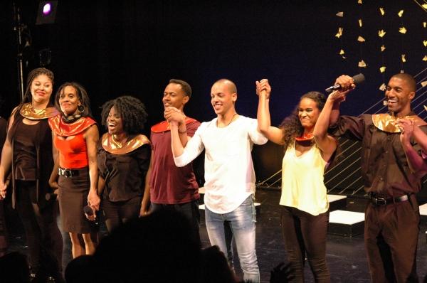 Photo Flash: ACAPPELLA Celebrates Opening Night at NYMF
