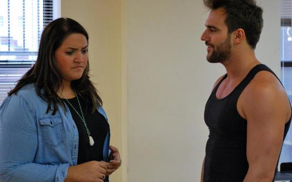 Photo Flash: Sneak Peek at NYMF's WEARING BLACK in Rehearsals