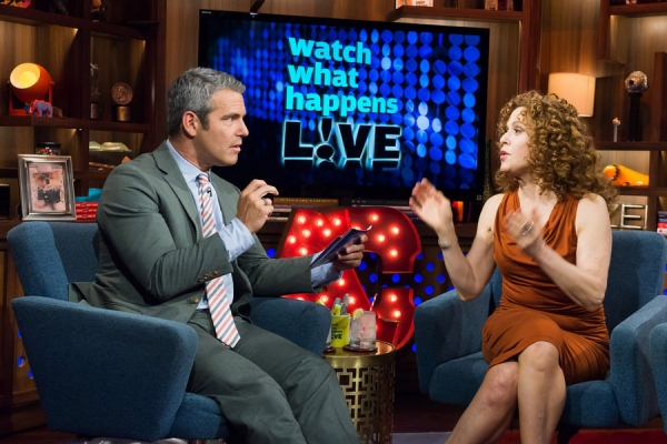 Andy Cohen, Bernadette Peters