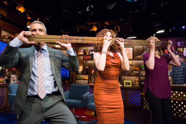 Andy Cohen, Bernadette Peters, Laura Linney
