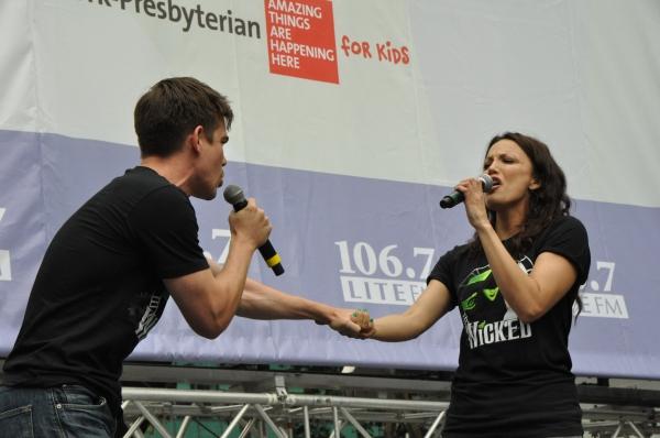 Matt Shingledecker and Caroline Bowman
