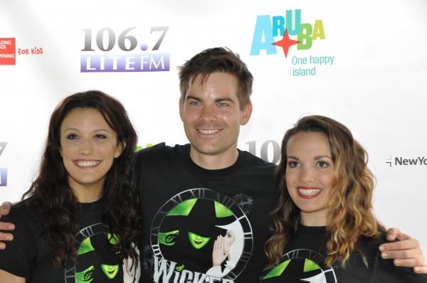 Caroline Bowman, Matt Shingledecker and Kara Lindsay