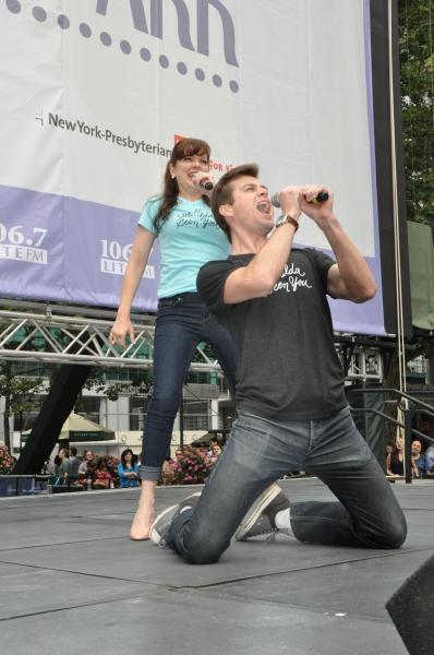 Jillian Louis and Nick Spangler