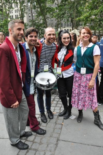 John Alix, Javier Amaya, Collin Couvillion, Ali Vesey and Holly Heiser