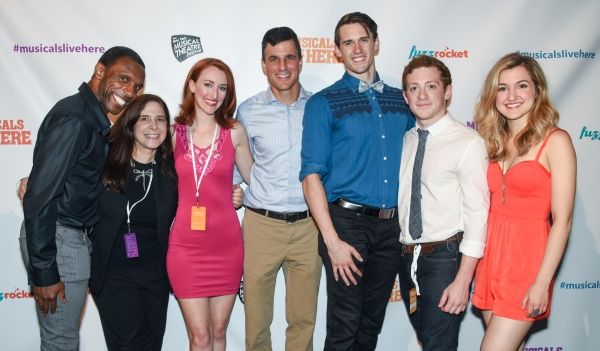 Ken Davenport and Dori Bernstein with the CLAUDIO QUEST cast