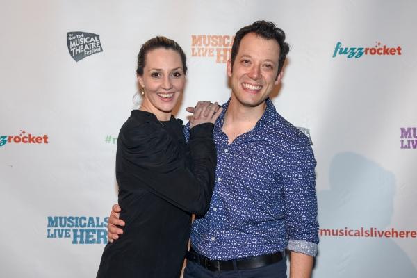 Shannon Lewis and John Tartaglia