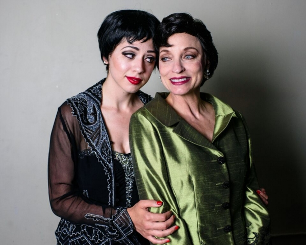 Michelle Lauto as Liza and Nancy Hays as Judy Garland