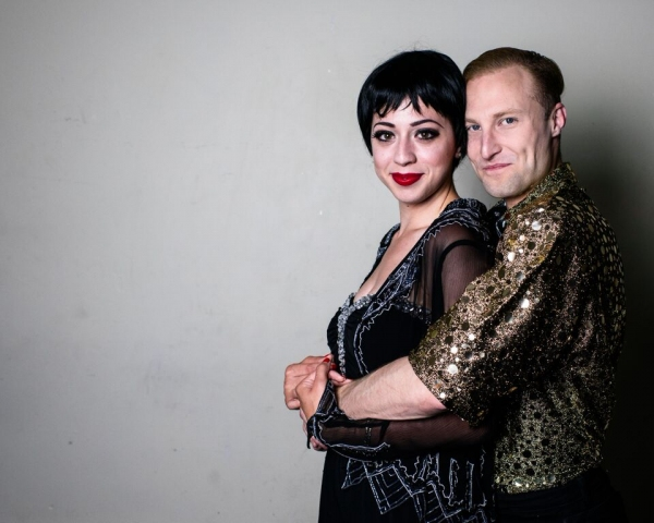Michelle Lauto as Liza, and Chris Logan as Peter Allen