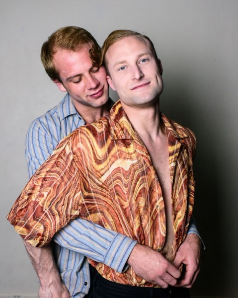 Luke Meierdierks as Greg and Chris Logan as Peter Allen