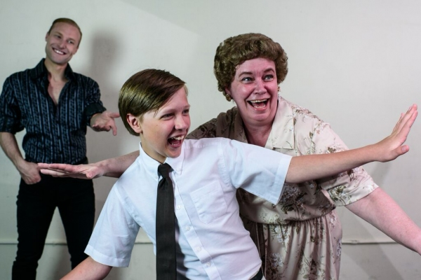 Photo Flash: Meet the Cast of Pride Films and Plays' THE BOY FROM OZ