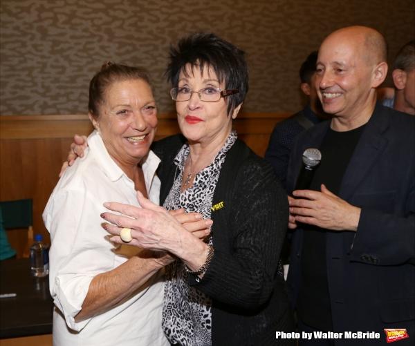 Graciela Daniele and Chita Rivera and Steve Sorrentino