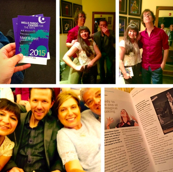 Rachel Louise Thompson, Stephan Stubbins, and Donna & Jeff Farrugla With Ben Folds Photo