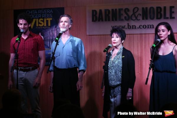 John Riddle, Tom Nelis, Chita Rivera and Michelle Veintimilla