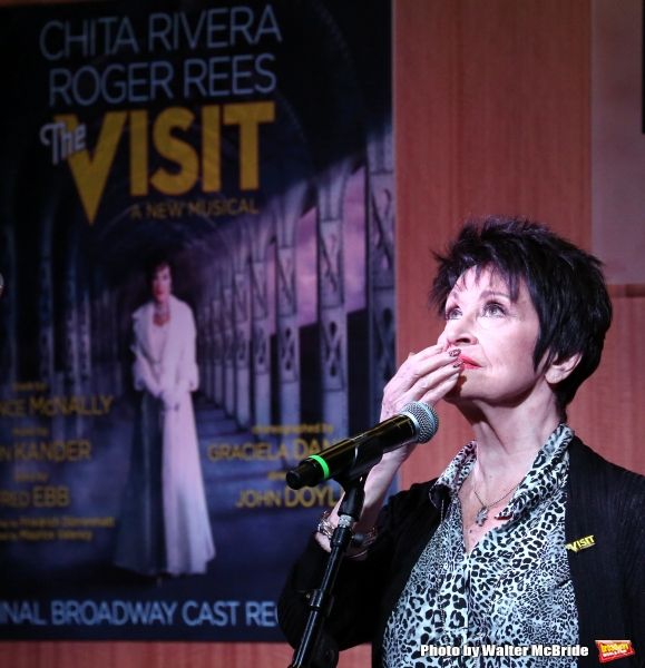 Photo Coverage: Claire's Back...Again! THE VISIT Cast Renites for a Performance at Barnes & Noble