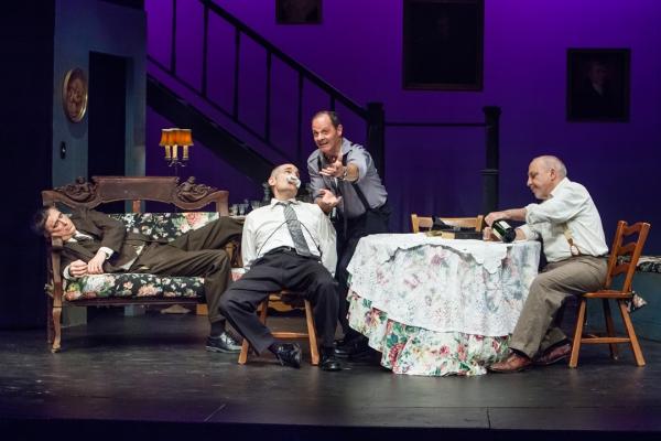 Dean Alexander, Steve Manzino as Mortimer Brewster, Martin Rosato as Officer O''Hara, Photo