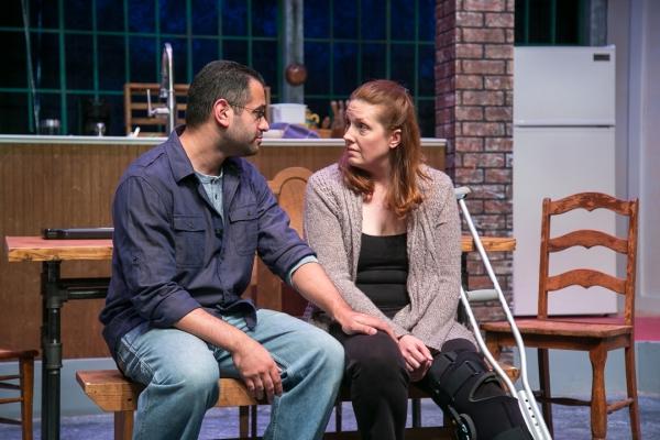 Aaron Kaplan as James and Alicia Dempster as Sarah