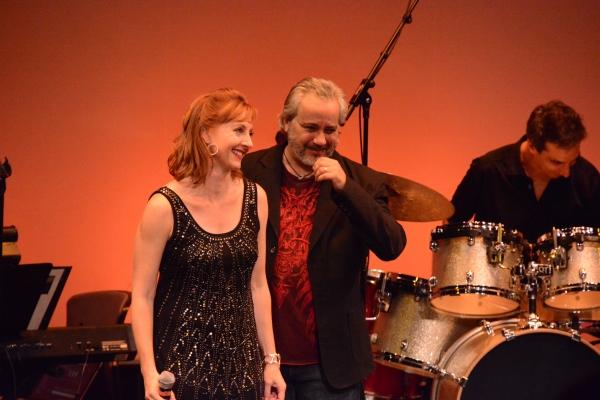 Rita Harvey and Danny Zolli