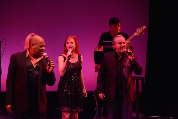 Lawrence Clayton, Rita Harvey and Danny Zolli