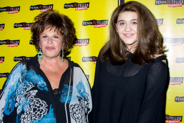 Lainie Kazan and granddaughter Isabella