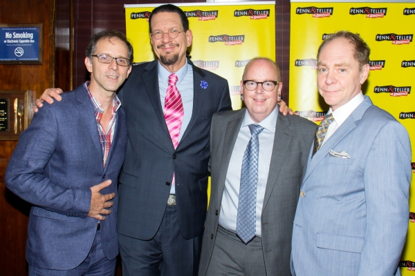 John Rando, Penn Jillette, Mike Jones, Teller