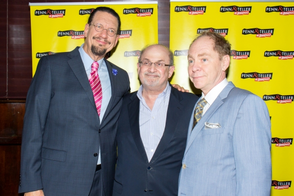 Penn Jillette, Salman Rushdie, Teller