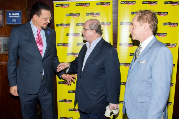 Photo Coverage: PENN & TELLER Celebrate a Magical Opening Night on Broadway!