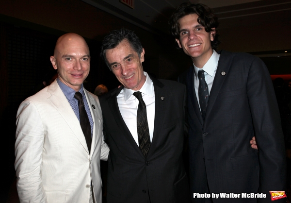 Michael Cerveris, Roger Rees & Alex Timbers