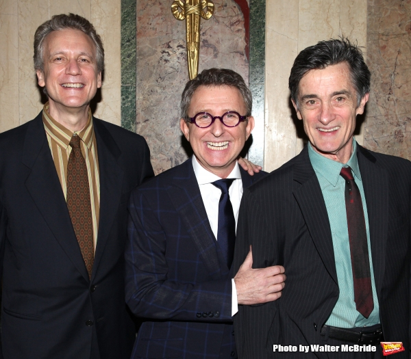 Rick Elice, Thomas Schumacher & Roger Rees