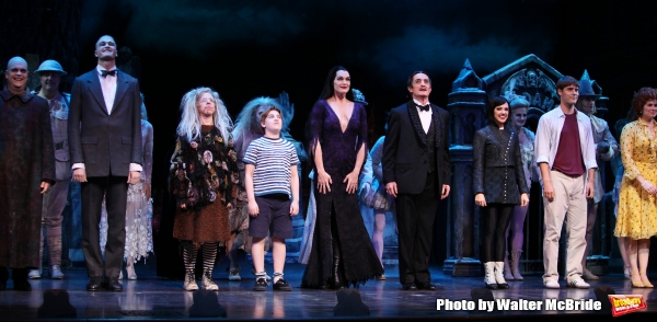 Brooke Shields, Brad Oscar, Zachary James, Jackie Hoffman, Adam Riegler, Roger Rees,  Photo