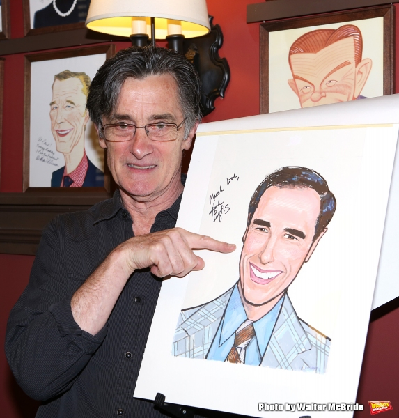 Roger Rees attends the Hal Luftig Sardi''s Caricature Unveiling  at Sardi''s Restaurant on June 11, 2014 in New York City.