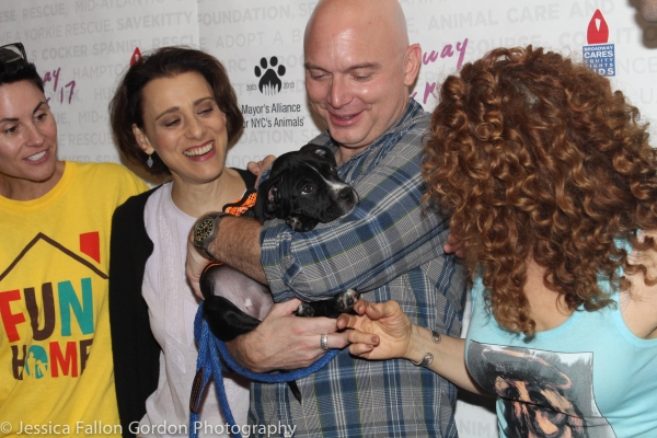 Beth Malone, Judy Kuhn, Michael Cerveris and Bernadette Peters
