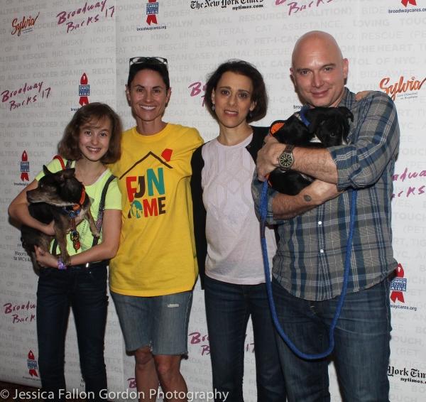 Sydney Lucas, Beth Malone, Judy Kuhn and Michael Cerveris
