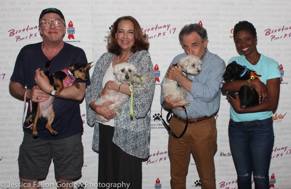 Edward Hibbert, Harriet Harris, Chip Zien and Montego Glover