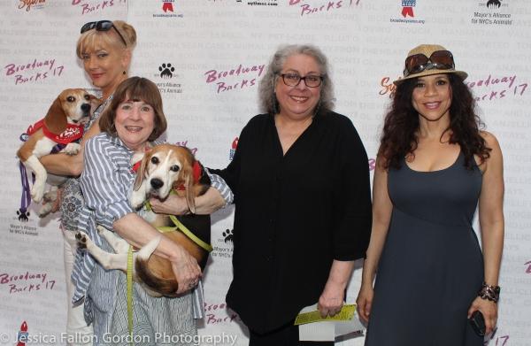 Glenne Headly, Marylouise Burke, Jayne Houdyshell and Rosie Perez