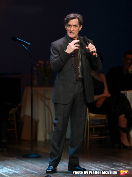 Roger Rees performing in ''Angela Lansbury and Friends Salute Terrence McNally'' - A Benefit for the Acting Company in New York City.