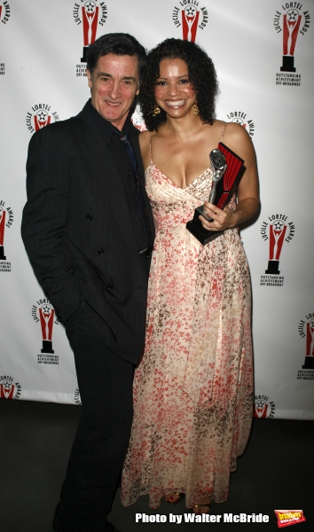 Gloria Reuben & Roger Rees attending the 22nd Annual Lucille Lortel Awards at the New World Stages in New York City.May 7th, 2007