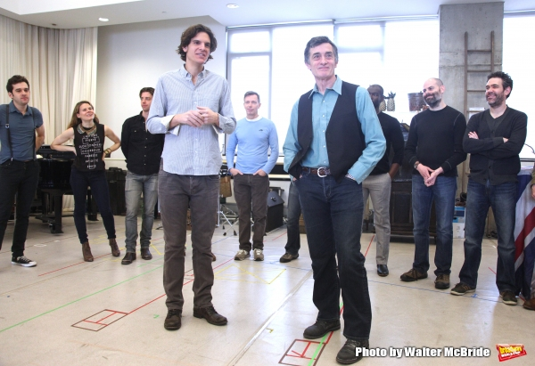 Alex Timbers & Roger Rees