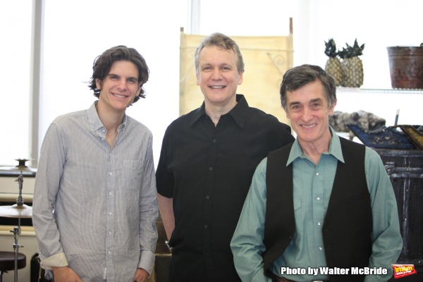 Alex Timbers, Rick Elice & Roger Rees