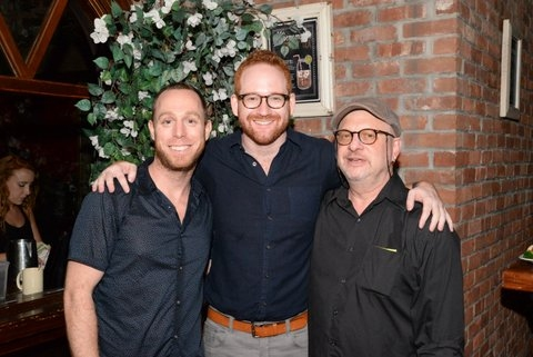 Choreographer, Marc Kimelman, Diretor David Alpert and Musical ' Henry Aronson Photo