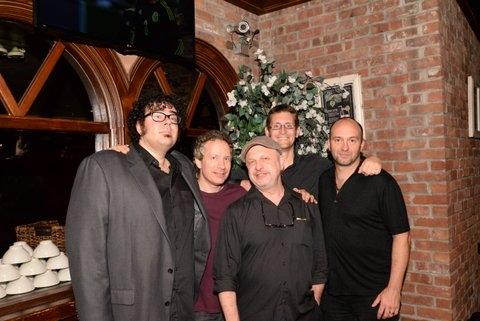 Michael Teoli (music) and the band Chris Biesterfeld, Henry Aronson, Andrew Zinsmeist Photo