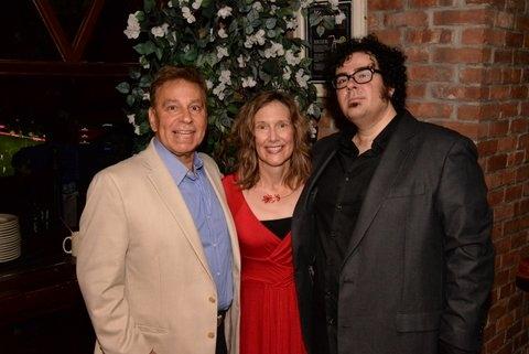 Producer Paul T. Boghosian with Elizabeth Searle (books & lyrics) and Michael Teoli ( Photo